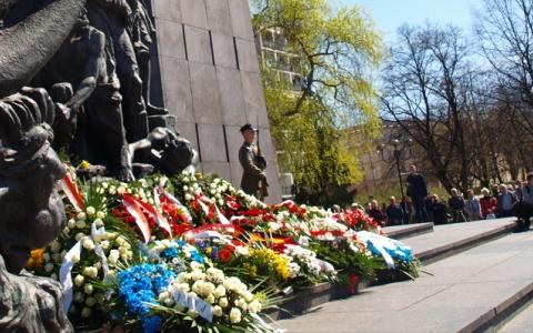 Obchody 70. Rocznicy Wybuchu Powstania w Getcie Warszawskim w Centrum Kultury Jidysz