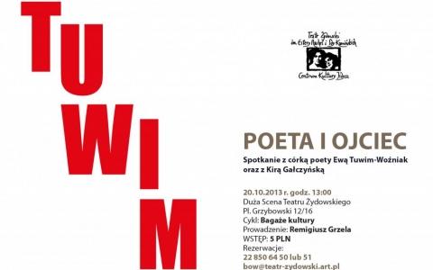 Bagaże Kultury. JULIAN TUWIM - POETA I OJCIEC. Spotkanie z córką poety Ewą Tuwim-Woźniak i Kirą Gałczyńską