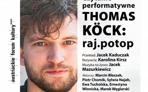 Czytanie performatywne - Thomas Köck: raj.potop