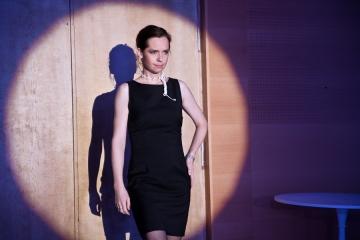 Walizka / reż. Dorota Ignatjew / fot. A.Wencel/ na zdjęciu Joanna Rzączyńska