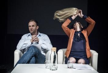 Malowany ptak / reż. Maja Kleczewska / fot. M.Hueckel / na zdjęciu Michał Kaleta i Joanna Drozda