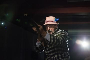 Śmierć pięknych saren / reż. Jan Szurmiej / fot. A.Wencel / na zdjęciu Marek Węglarski