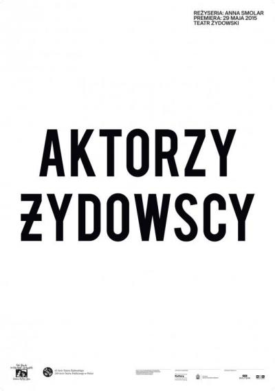 Aktorzy żydowscy / proj. Filip Zagórski