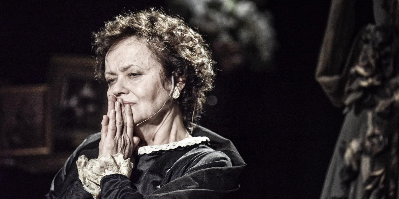 Ida Kamińska / dir. Gołda Tencer / photo Magda Hueckel