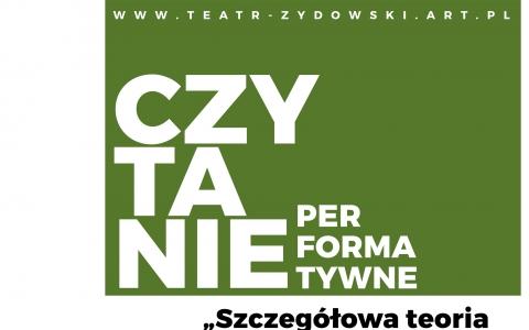"""""""Szczegółowa teoria życia i umierania"""" Michał Zdunik - czytanie performatywne"""