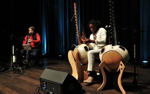 Buba Badjie Kuyateh & Christian Dawid / fot. W. Wiśniewska