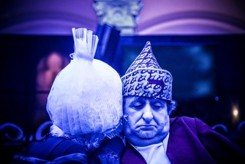 Chumesz lider / reż. Andrei Munteanu / na zdjęciu Henryk Rajfer