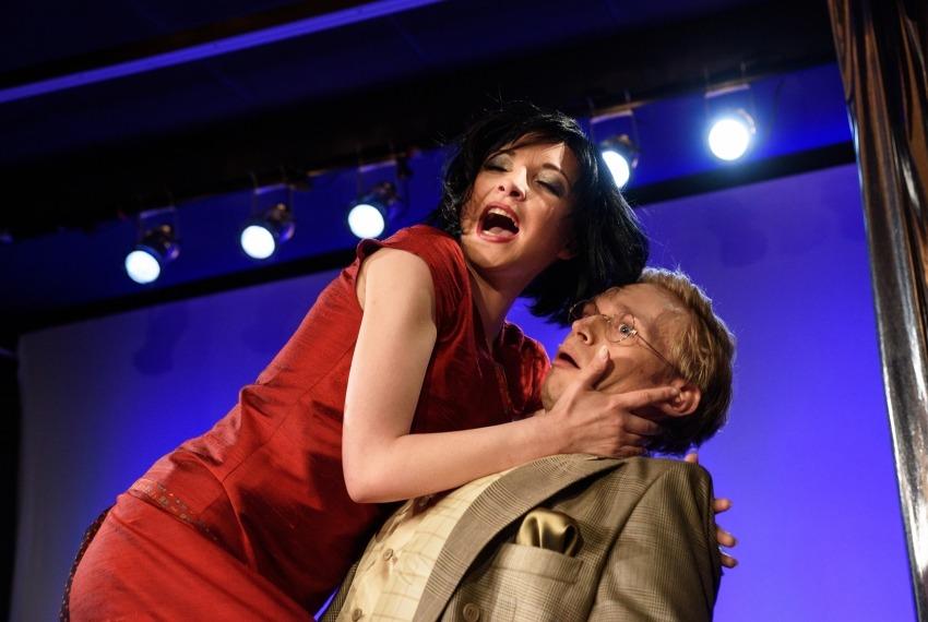 George & Ira Gershwin / reż. Jan Szurmiej / fot. A.Wencel / na zdjęciu Izabella Rzeszowska i Marcin Błaszak