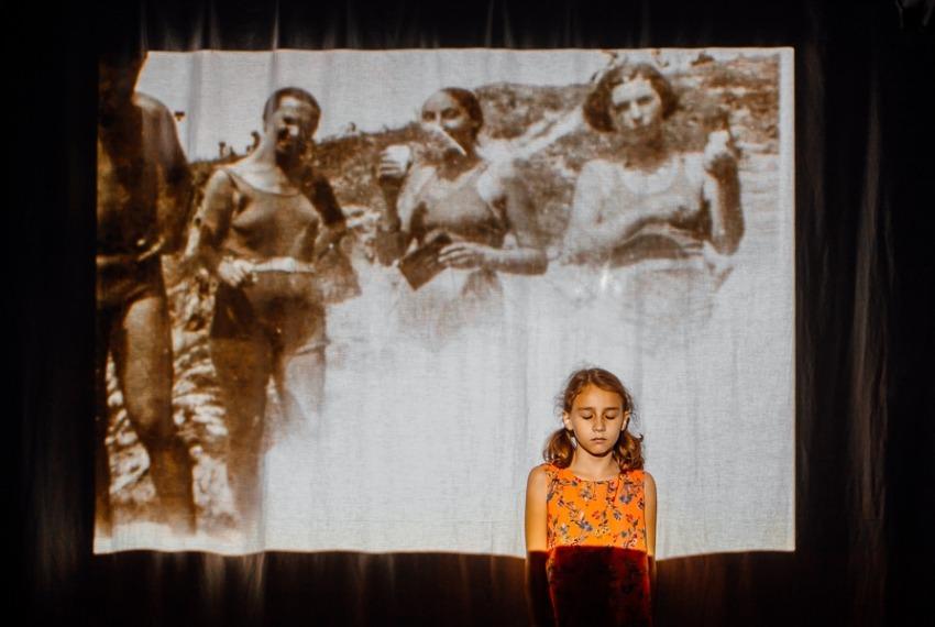 Ginczanka. Chodźmy stąd / reż. Krzysztof Popiołek / fot. B.Warzecha / na zdjęciu Sonia Vinyavskaya