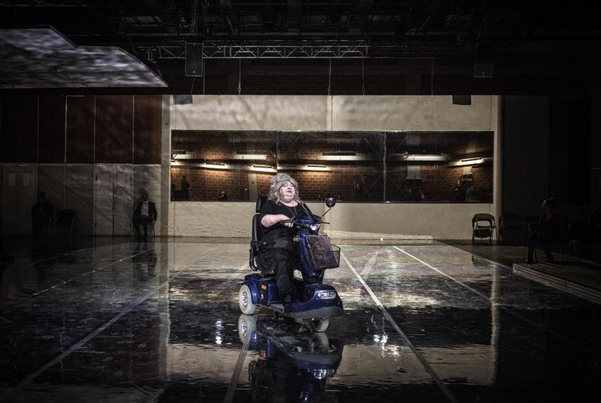 Golem / reż. Maja Kleczewska / na zdjęciu Gołda Tencer