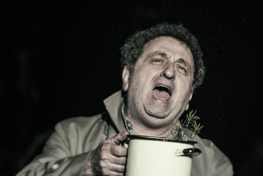 Marzec '68. Dobrze żyjcie - to najlepsza zemsta / reż. Monika Strzępka / fot. M.Hueckel / na zdjeciu Henryk Rajfer
