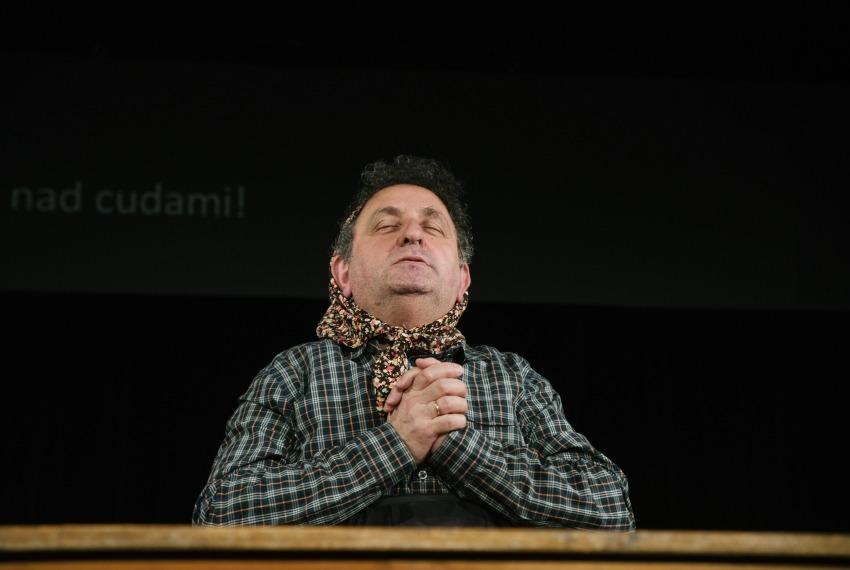 Miasteczko Kasrylewka / reż. Shmuel Atzmon-Wircer / na zdjęciu Henryk Rajfer