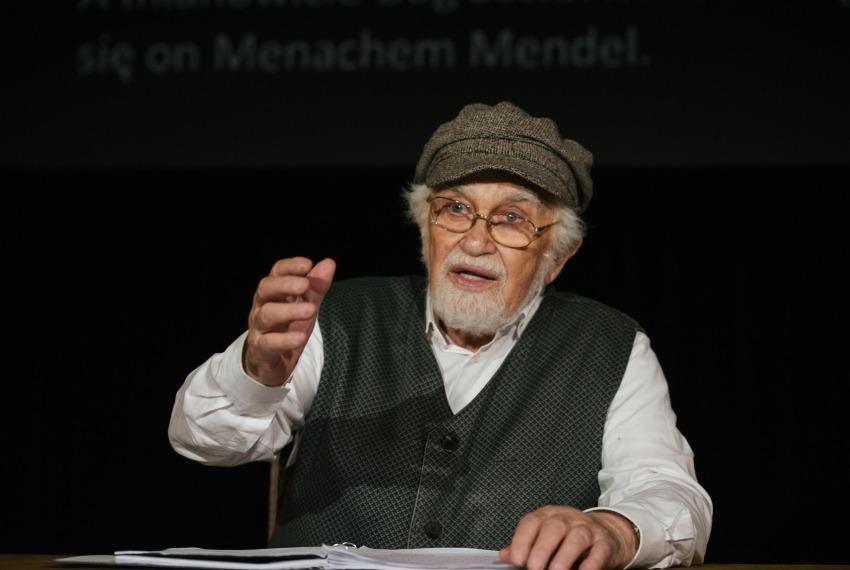 Miasteczko Kasrylewka / reż. Shmuel Atzmon-Wircer / na zdjęciu Shmuel Atzmon-Wircer