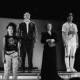 Wielka wygrana - scenariusz Marty Guśniowskiej powstał na podstawie tekstu Szolem Alejchema pod tym samym tytułem. Spektakl Teatru Żydowskiego w Warszawie wyreżyserował Tomasz Szczepanek.