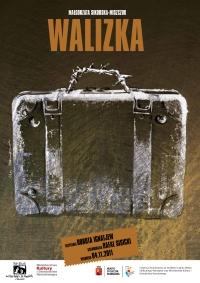 Walizka / projekt plakatu: Ola Szempruch