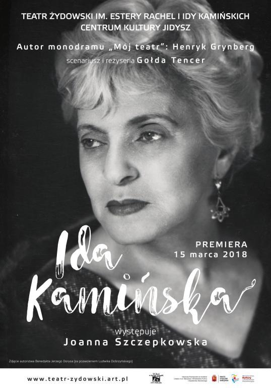 Ida Kamińska / reż. Gołda Tencer