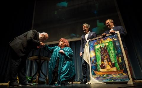 Jubileusz Gołdy Tencer na Festiwalu Łódź Czterech Kultur