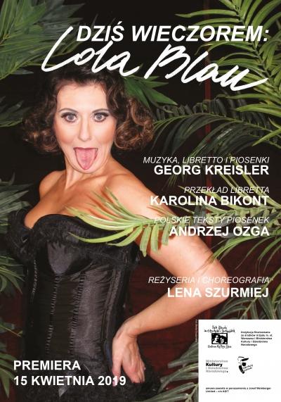 Dziś wieczorem: Lola Blau / reż. Lena Szurmiej