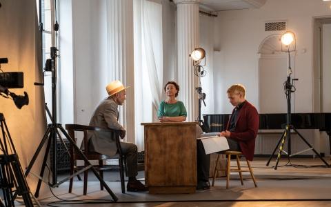 No there, dir. Agnieszka Lipiec-Wróblewska./ photo by Maurycy Stankiewicz