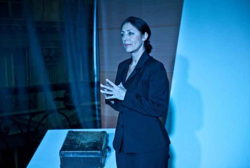 Walizka / reż. Dorota Ignatjew / fot. A.Wencel / na zdjęciu Ernestyna Winnicka