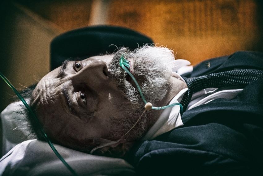 Golem / reż. Maja Kleczewska / na zdjęciu Marek Węglarski