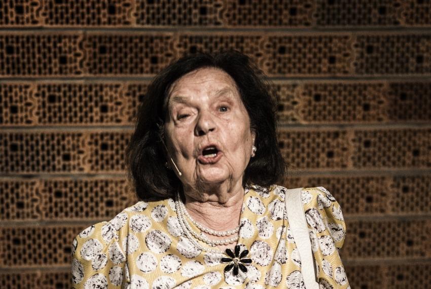 Golem / reż. Maja Kleczewska / na zdjęciu Wanda Siemaszko