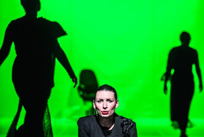 Wiera Gran / reż. Jędrzej Piaskowski / na zdjęciu Paulina Lombarowicz